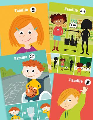 jeu des familles gestes barrières